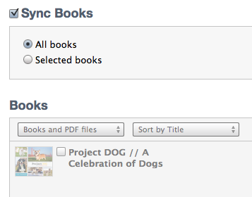 Project DOG in iTunes