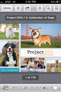 Project DOG on iBooks