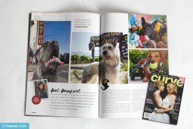Project DOG by Kira Stackhouse in Curve Magazine | Nuena Photography