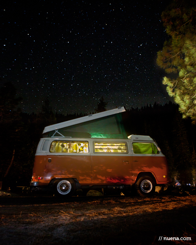 San Francisco Nature Photographer - VW Camper | Kira Stackhouse Photography