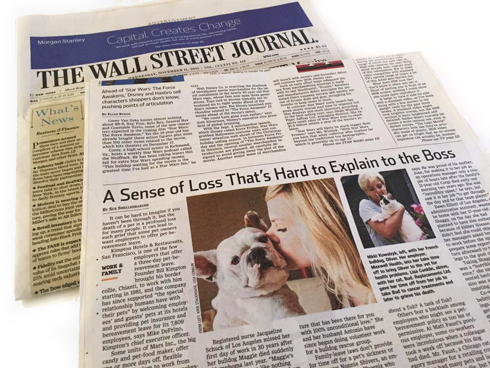 Wall Street Journal - Kira Stackhouse